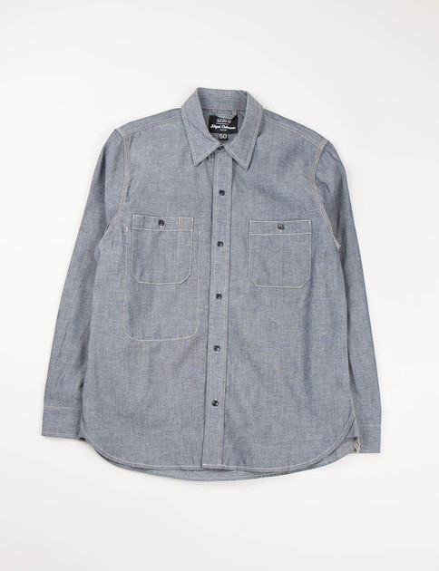 Lybro Blue 6oz Chambray Joes Shirt