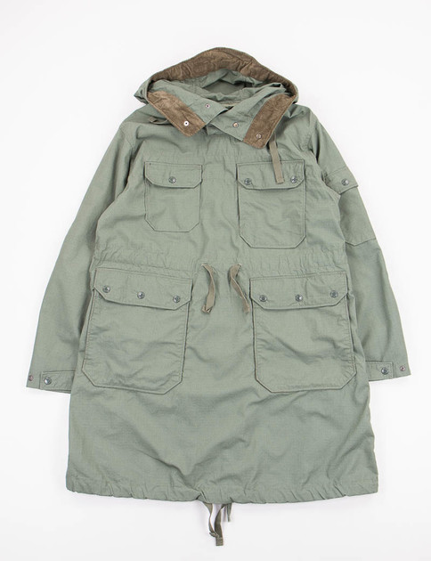 Olive Nyco Ripstop Over Parka