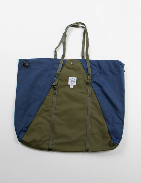 Moss/Midnight Large Camp Tote