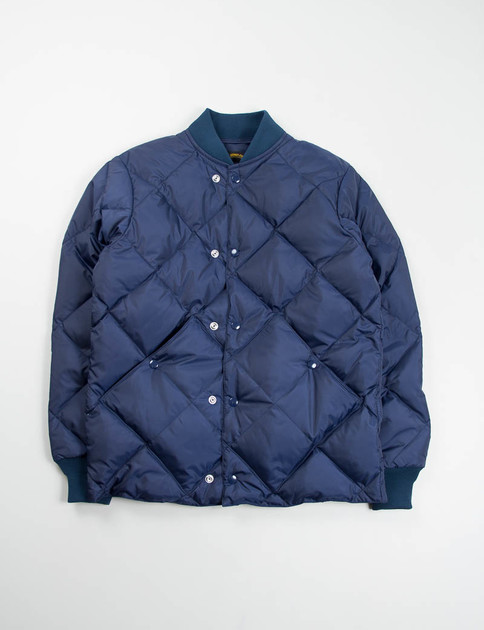 Navy Comfy Down Jacket