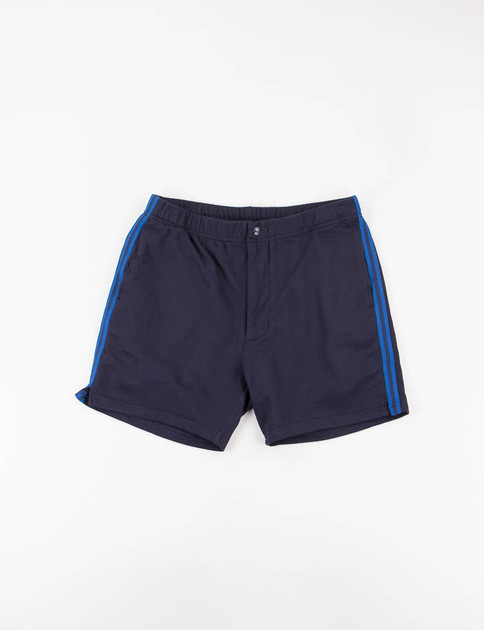 Dark Navy French Terry Track Short