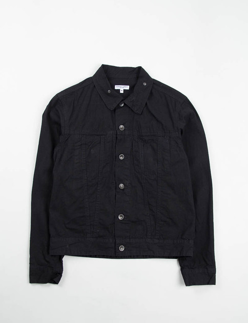 Black 7.5oz Denim Type 5 Jean Jacket