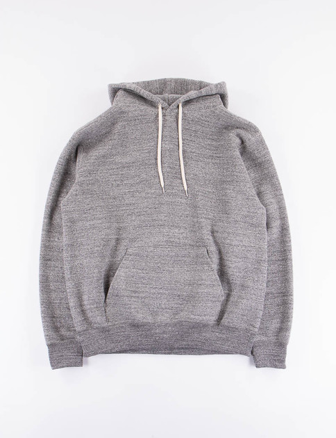 Charcoal Loop Wheel Pullover Hoody