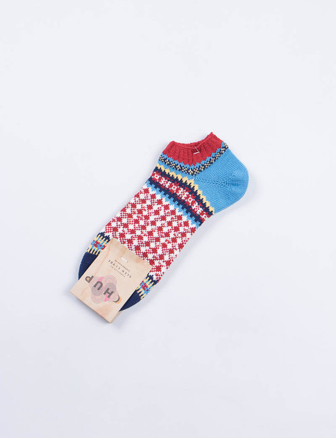 Red Labdien Socks