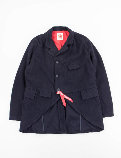 Navy/Red Phisherman's Tail Coat