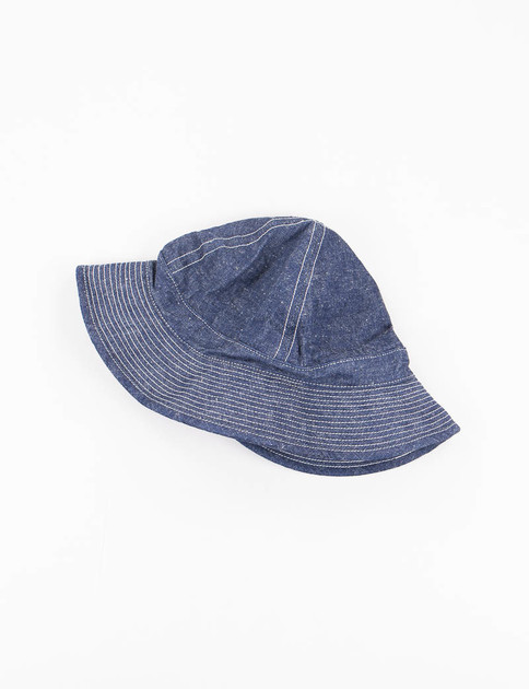 Indigo One Wash US Navy Hat