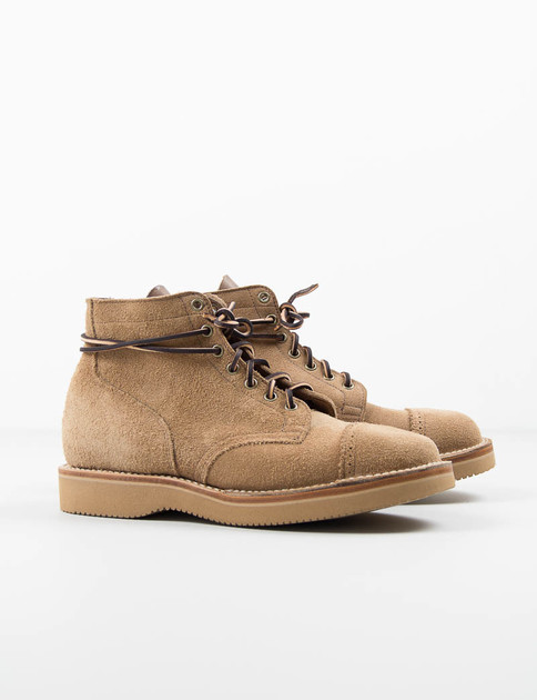 Natural Chromexcel Rough Out Service Boot