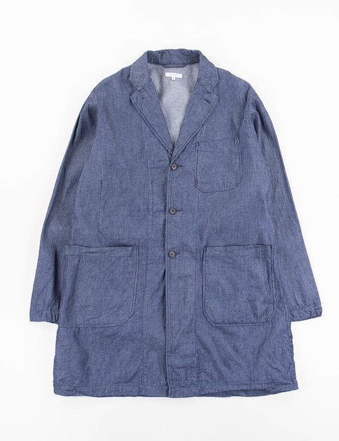 Indigo Light Weight Denim Lab Shirt