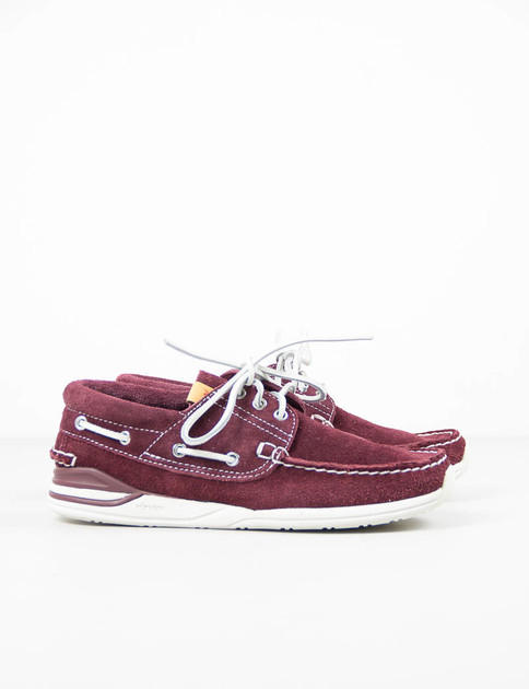Burgundy Suede Hockney–Folk