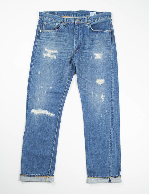 Damage Wash 107 Slim Fit Jean