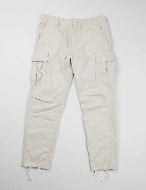Beige High Count Broadcloth BDU Pant
