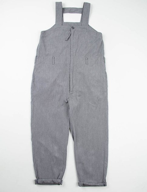 Grey Broken Chambray Waders