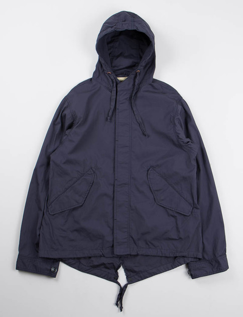 Navy Vancloth Short Fishtail Jacket