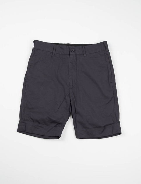 Dark Navy Iridescent Cinch Short