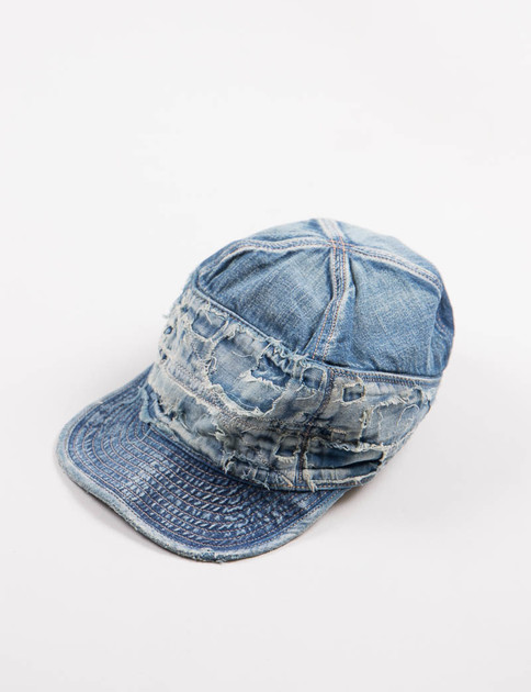 Damaged 12oz Denim The Old Man And The Sea Cap
