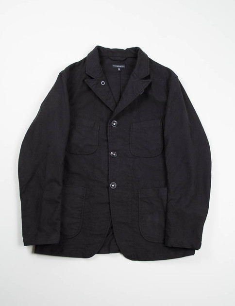 Black Moleskin Bedford Jacket