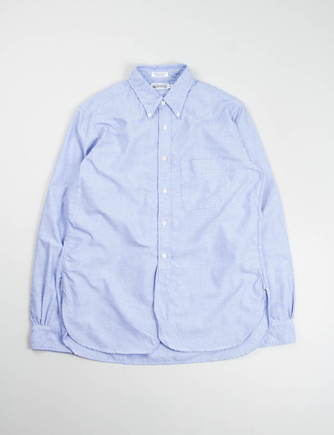 Blue Oxford 19th Century BD Shirt