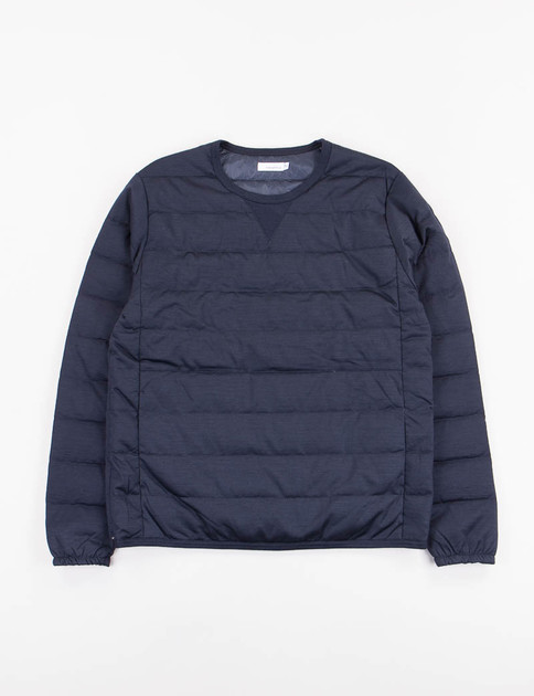 Navy Down Pullover