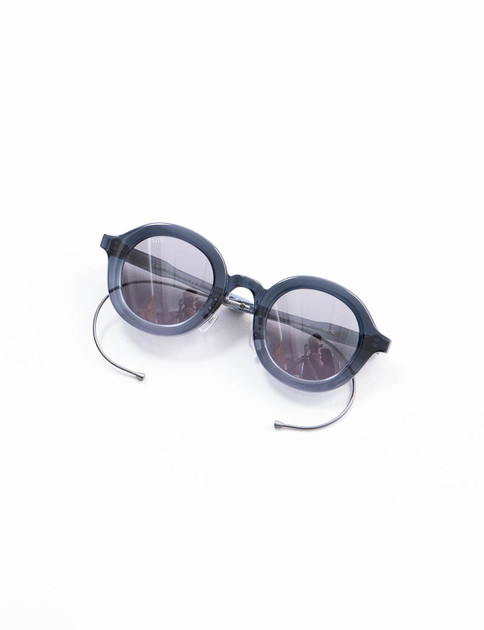 Blue/Grey Solid CWM Cable Sunglasses