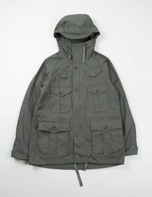 Olive Ripstop Enfield Jacket