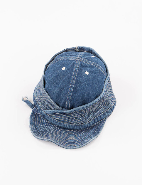 Processed Indigo Denim Monkey Phillip Cap
