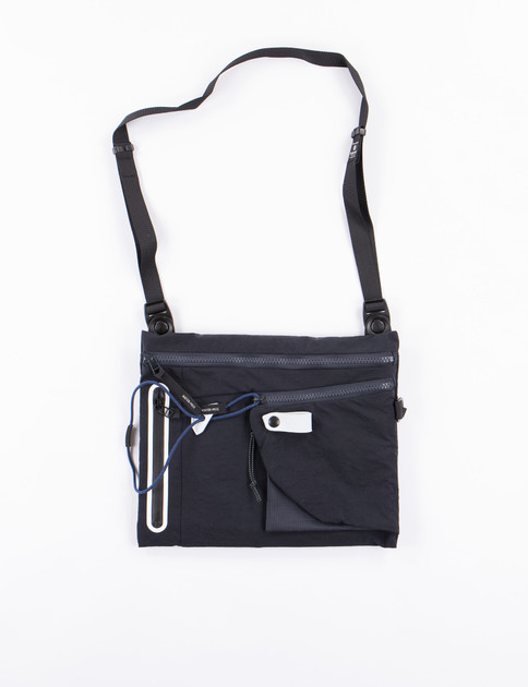 Navy Game Shoulder Bag