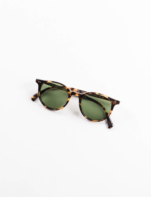 Vintage Brown Tortoise Delray Sunglasses