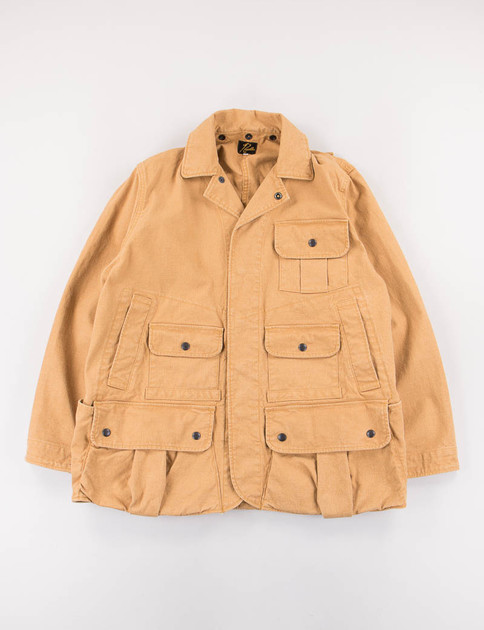 Camel Duck Field Coat