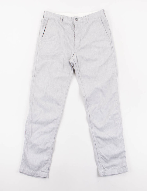 Heather Grey Cotton Twill Ground Pant