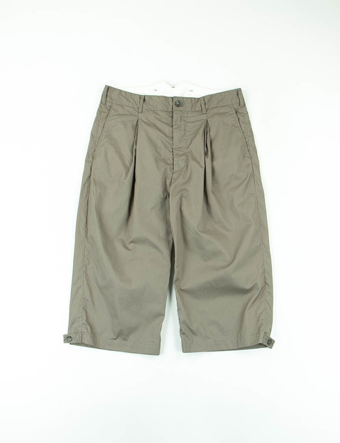Olive High Count Twill WP Half Pant