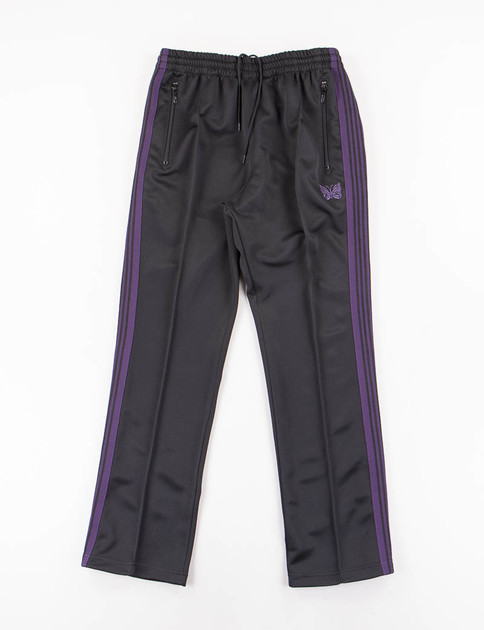 Black Narrow Track Pant