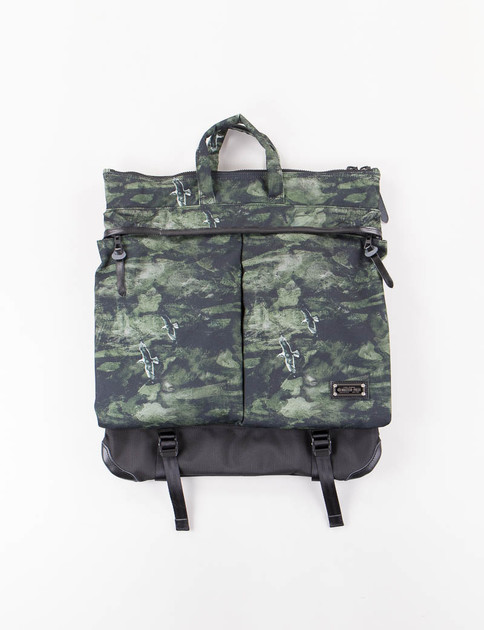 Dark Green Camo Nowartt Helmet Bag