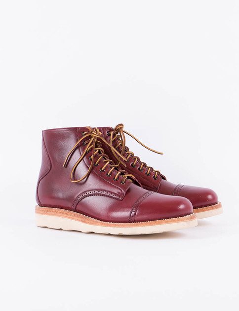 Red Chromexcel Johnson Boot Special
