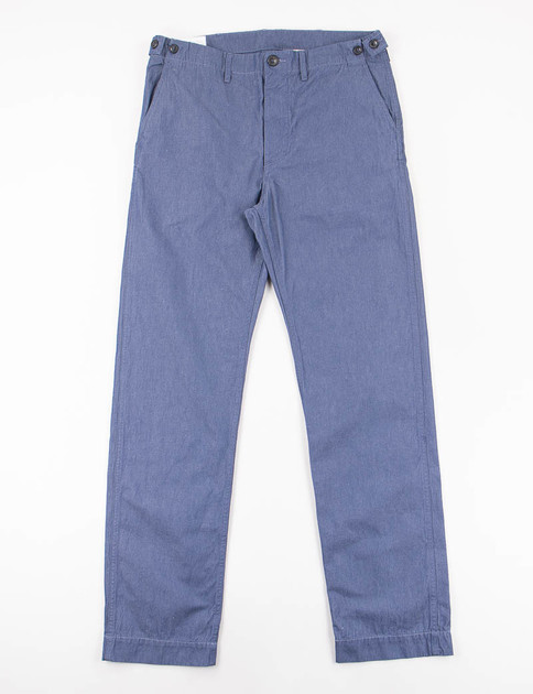 Blue Twill Reco Pant