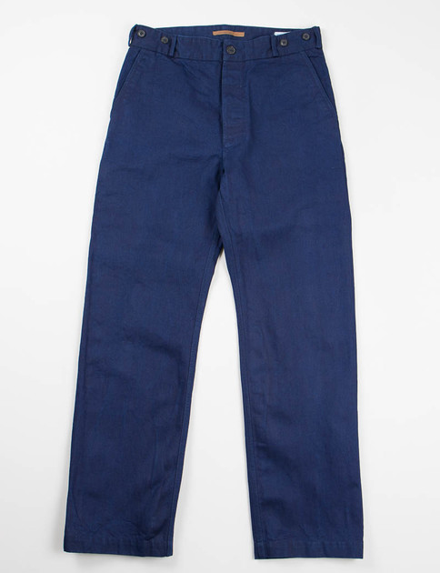 Indigo One Rinse Twill Sava Trouser