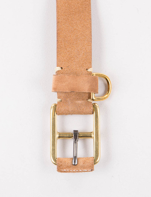 G Brown FO Stitched D–Ring Belt