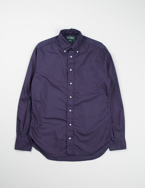 Indigo Overdyed Oxford BD Shirt