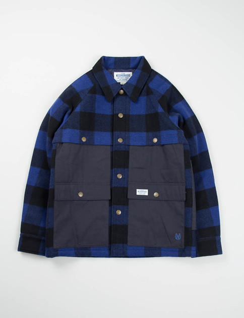 Blue Plaid Mackinaw Jacket