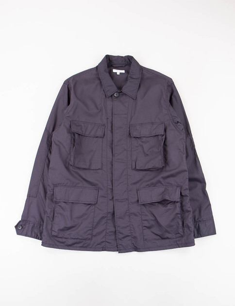 Dark Navy High Count Twill BDU Jacket