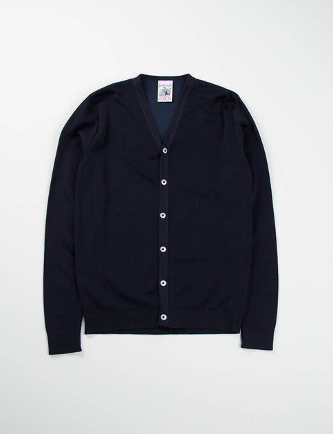 Dark Navy Initiation Cardigan