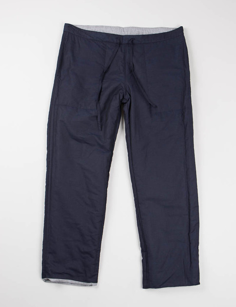 Navy Reversible Drawstring Pant