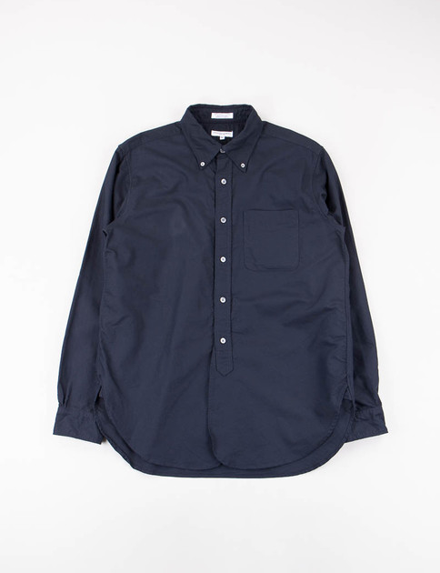 Dark Navy Cotton Oxford 19th Century BD Shirt