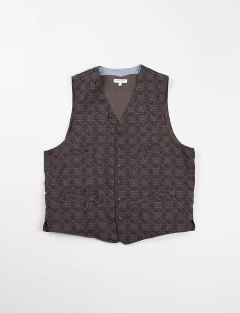 Grey Java Cloth Cinch Vest