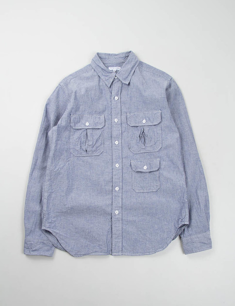 Blue Chambray Cloth Mil Shirt – EXCLUSIVE