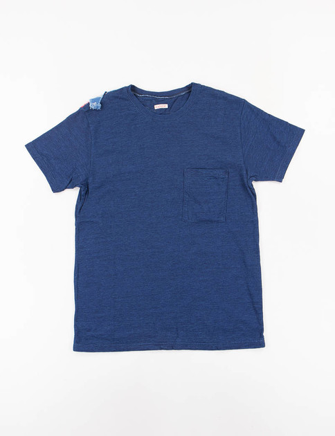 Indigo Banadana Remake Indian Tee