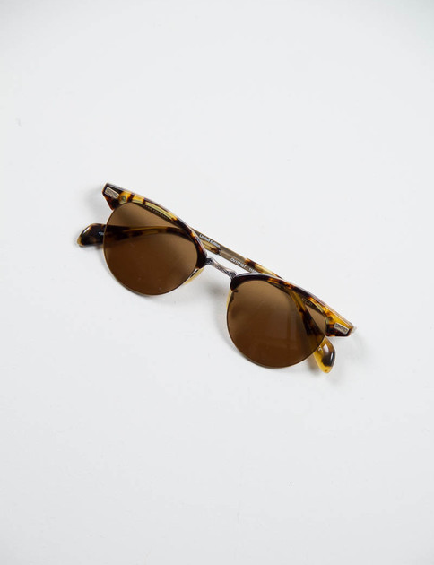 DTB/Antique Gold Executive II Sunglasses