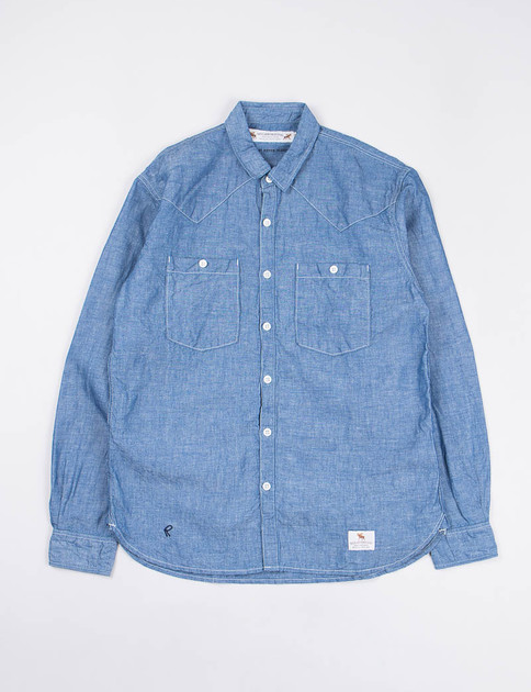 Indigo Chambray Highliner Shirt