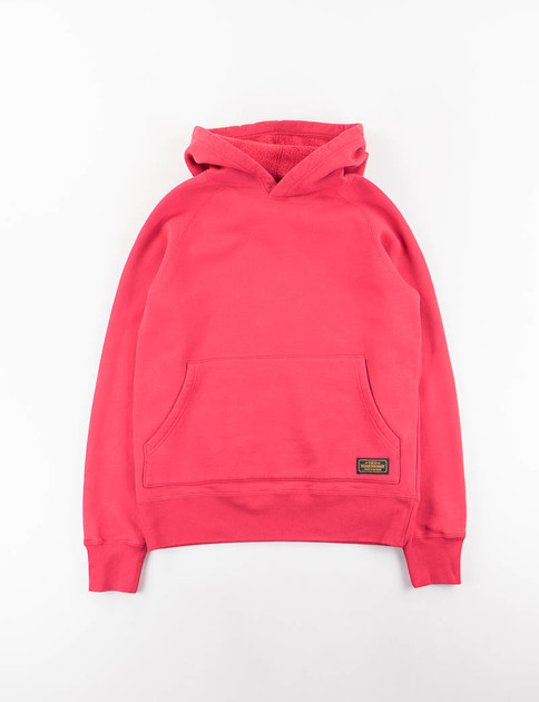 Red Cam C–Hooded Sweatshirt