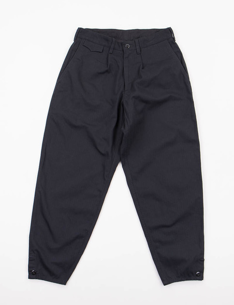 Black Herringbone Riding Pant