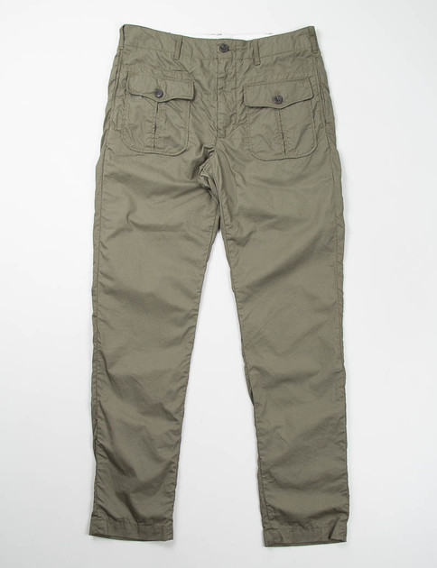 Olive French Twill Huntsman Pant
